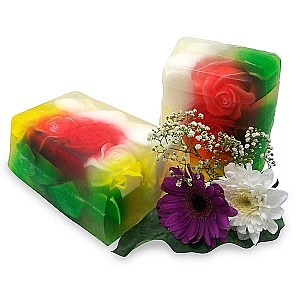 Luxury Flowers Soap